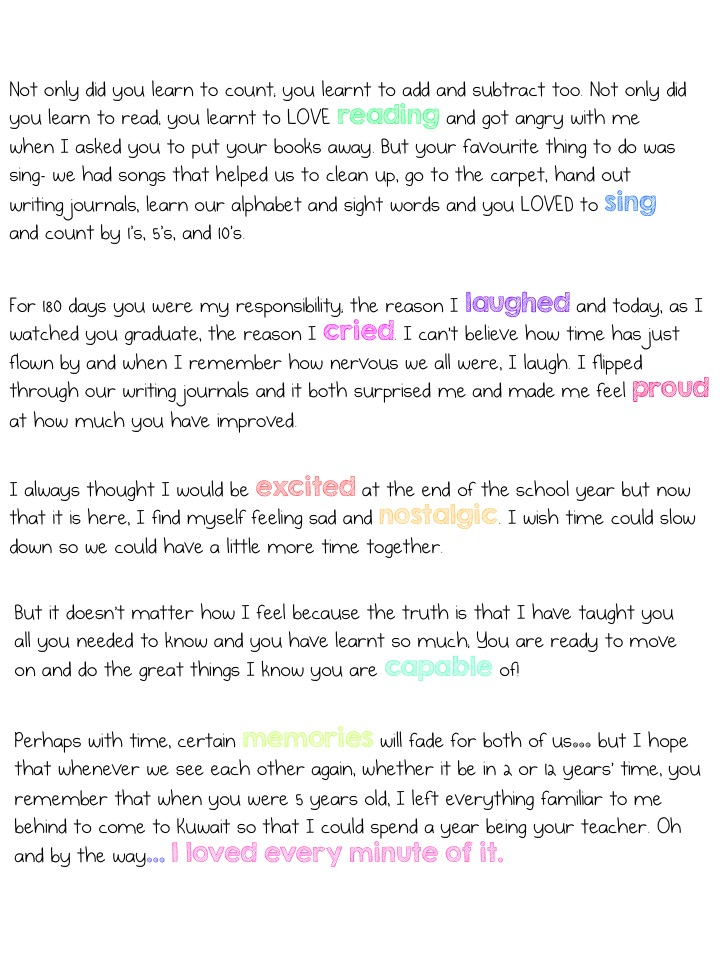 A letter to my kindergarten students expat panda 1 2 3 thecheapjerseys Image collections